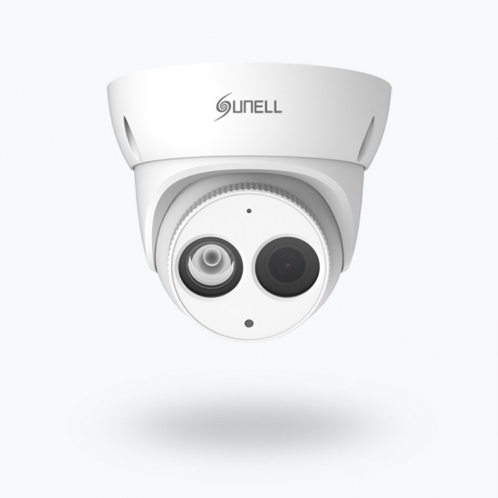Fixed Eyeball Network  Camera with Built-in Mic